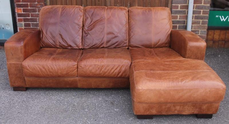 Pleasing Dfs Tan Leather Chaise End Sofa In Haywards Heath Expired Camellatalisay Diy Chair Ideas Camellatalisaycom