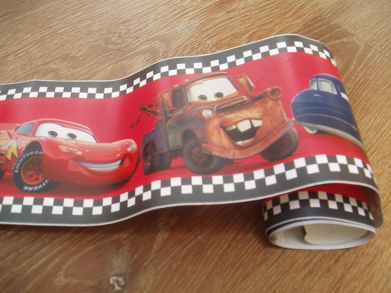 Wallpaper Border, DISNEY PIXAR CARS. 2.3 M Long In Lancing   Expired |  Friday Ad