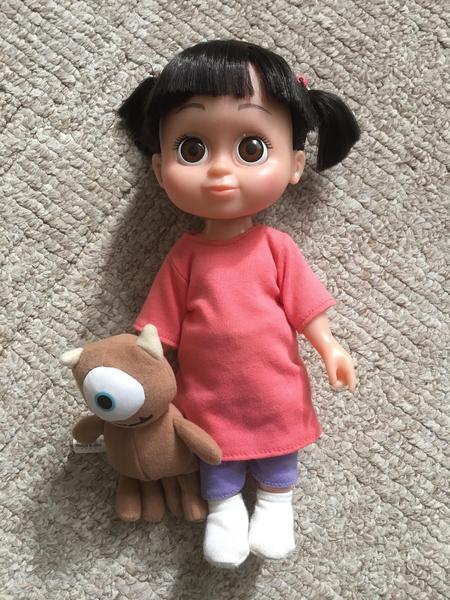 Rare Genuine Disney Monsters Inc Collectable Boo Doll Toy