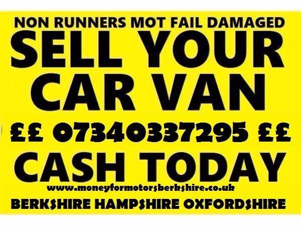 fae36ed7e8 MONEY FOR MOTORS WANTED CARS VANS TRUCKS NO MOT NON RUNNERS SCRAP MOT  FAILURE BERKSHIRE in Reading - Expired