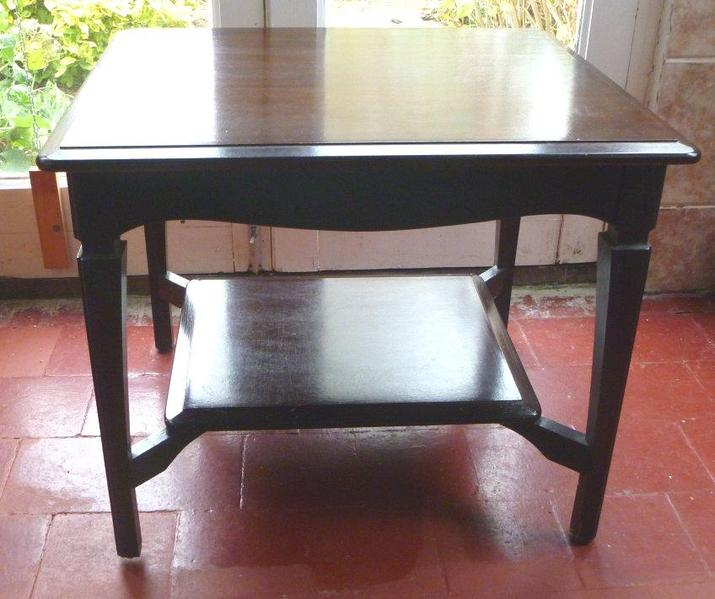 Stag minstrel dark wood lampcoffee table in worthing sold friday ad aloadofball Choice Image