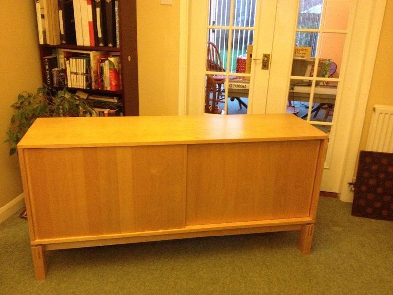Ikea Birch Credenza : Sideboard ikea pelto in storrington expired friday ad
