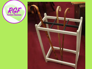 20% OFF SELECTED ITEMS!! Painted Walking Stick Holder / Umbrella Stand - Local Delivery £19  in Lancing