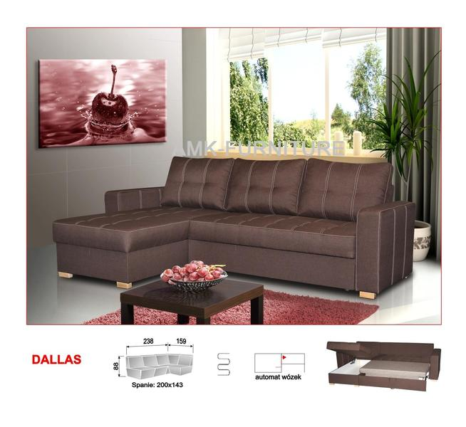 New Corner Sofa Bed DALLAS,Double Bed,Amk Furniture,Fast Delivery,Polskie  Narozniki W UK In London   Expired | Friday Ad