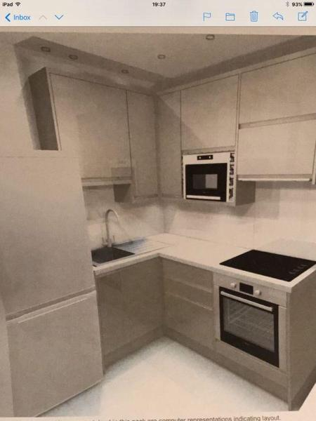 Grey Kitchen Cabinets Howdens howdens high gloss clerkenwell grey kitchen including appliances