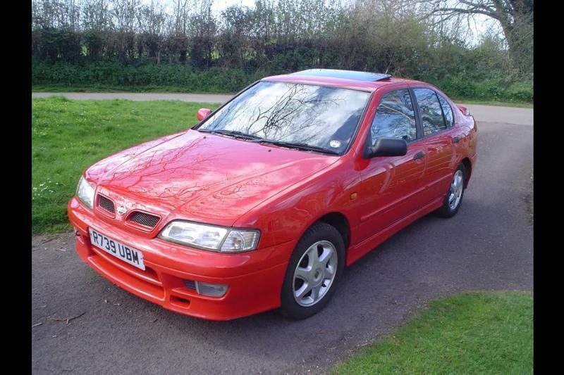 red 1997 nissan primera p11 gt low mileage 2 0 petrol 4dr saloon manual sr20de in bristol