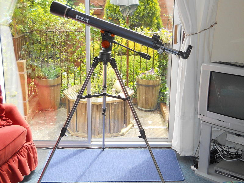 Celestron astromaster 70az refractor telescope in glastonbury sold