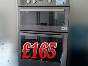 Hotpoint Double Oven Mirrored Finish  in St. Leonards-On-Sea