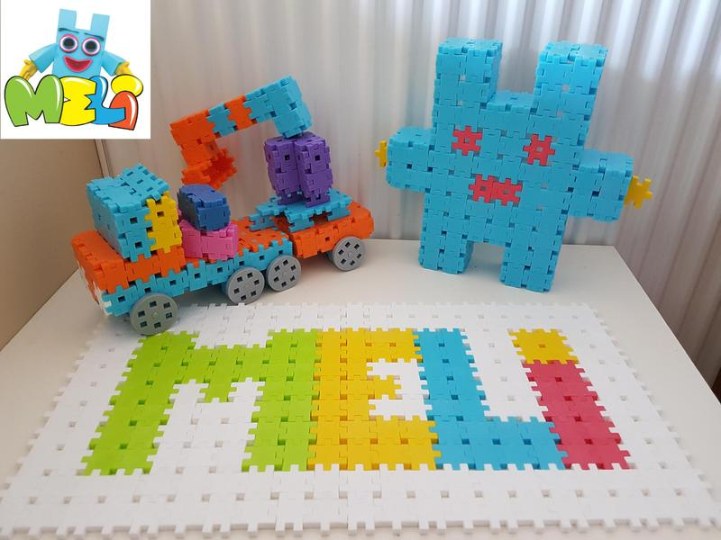 Meli Creative Blocks Meli Basic 300 Elements Constructor Blocks
