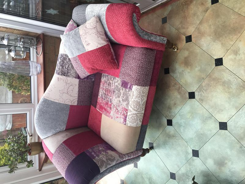 Dfs Small Patchwork Sofa Chair In Uckfield Expired Friday Ad