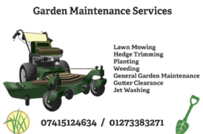 Garden maintenance services brighton friday ad for House and garden maintenance services