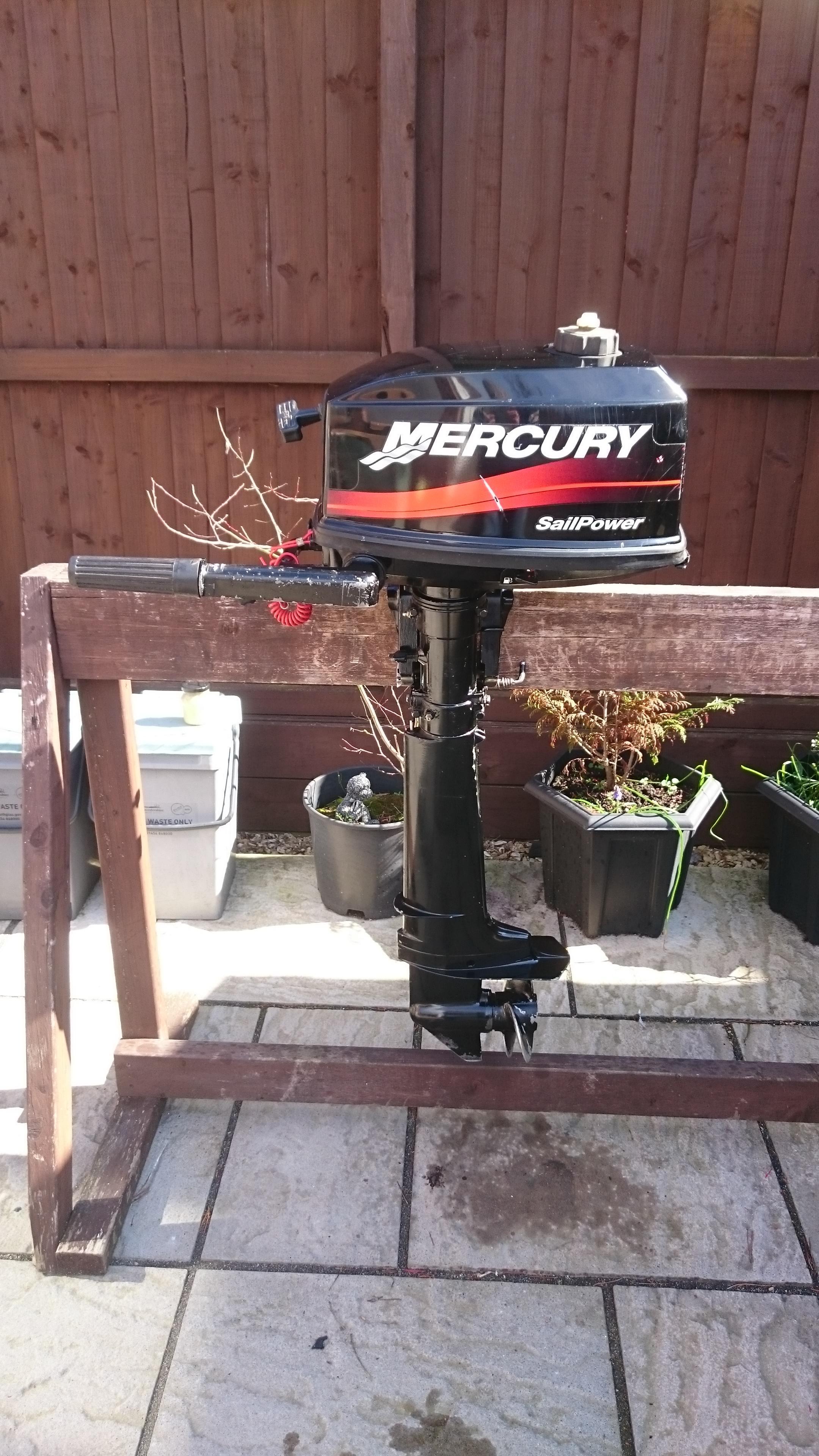 MARINER / MERCURY 4HP 2 STROKE OUTBOARD MOTOR , DINGHY