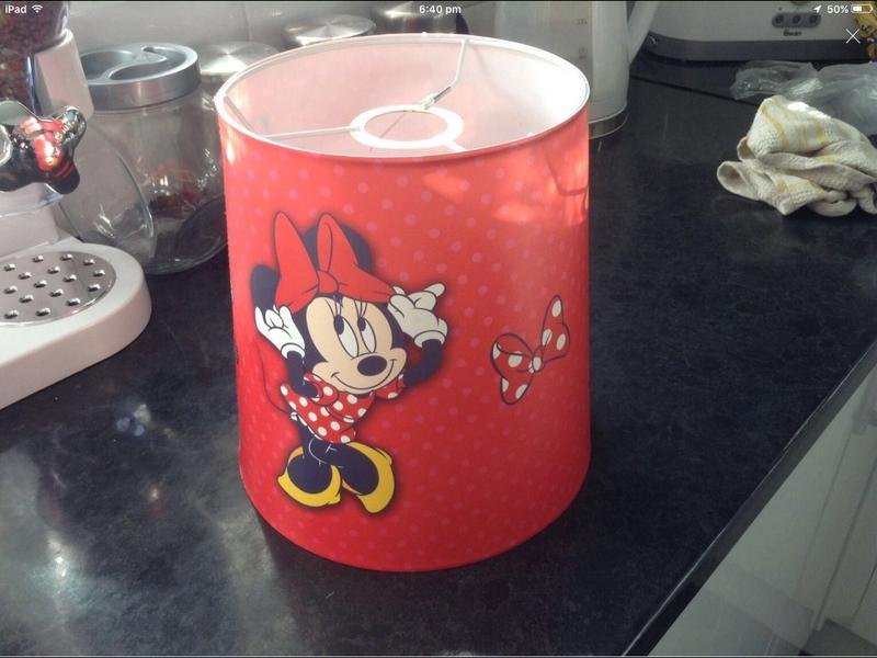 Minnie mouse lampshade in eastbourne friday ad minnie mouse lampshade in eastbourne aloadofball Image collections