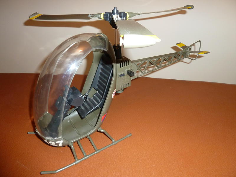 1970s ACTION MAN HELICOPTER In Uckfield