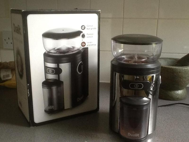Dualit Burr Coffee Grinder In Hove Expired Friday Ad