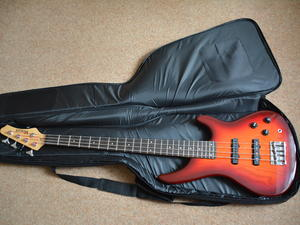 Used, Bass guitar for sale  Wick