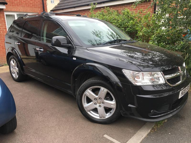 Dodge Journey 2010 RT 2 0 Diesel AUTO 69k, FSH, DVD, SATNAV, LEATHER