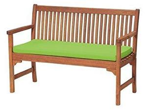 Waterproof Garden Bench Pad/Cushion (Red) In Ashtead