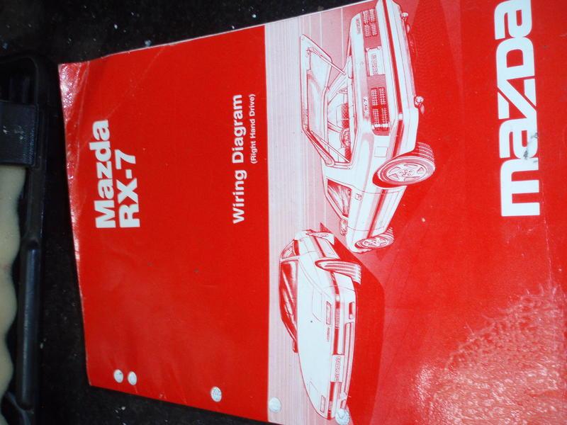 mazda rx7 wiring diagram rhd printed 1985 in seaford friday ad rh friday ad co uk