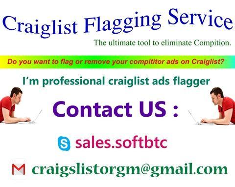 CRAIGSLIST FLAGGING SERVICE CRAIGSLIST FLAGGING SERVICE