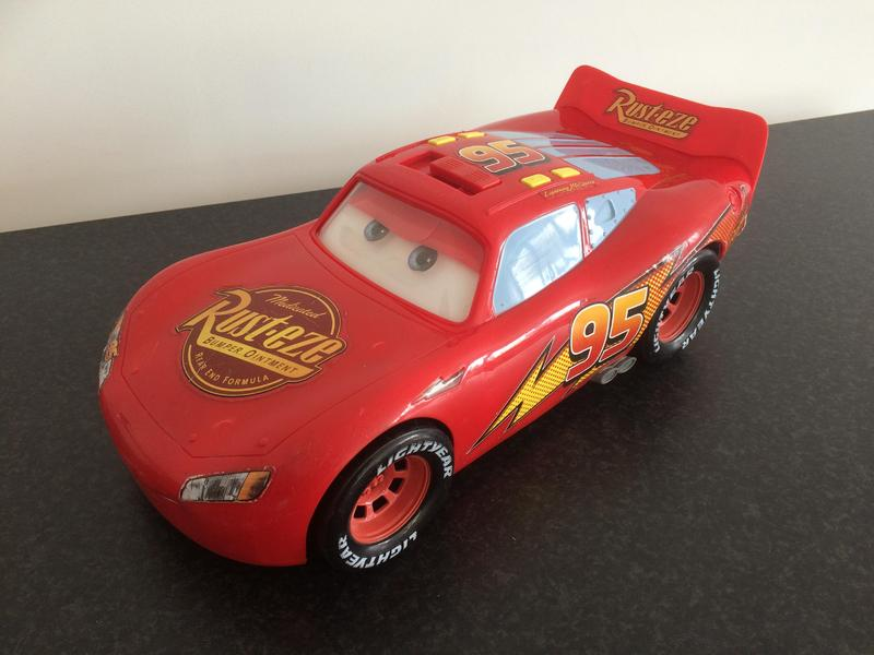 disney cars talking sounds lightning mcqueen large car with