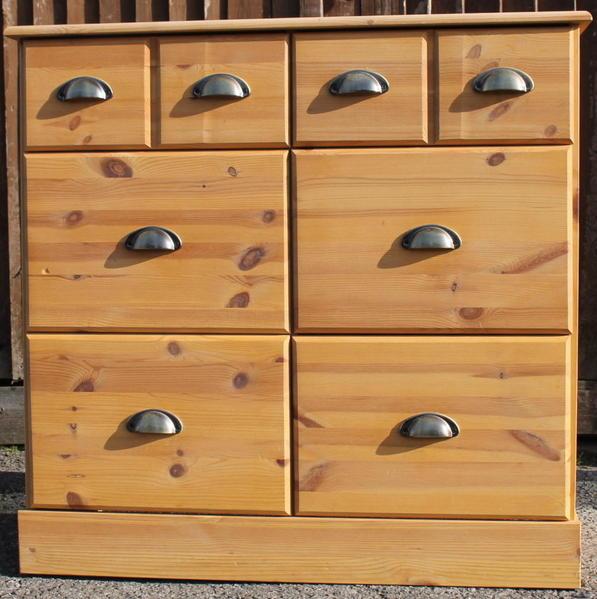 Corona 1 Door 4 Drawer Sideboard