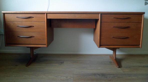 size 40 43d12 80b42 Vintage Retro Teak Mid Century Austinsuite Desk / Sideboard ...