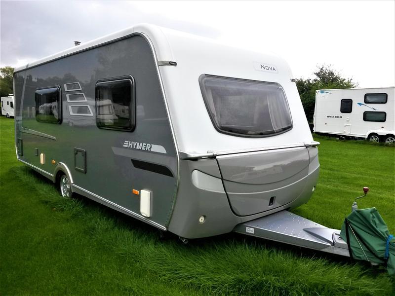 2007 Hymer Nova 570 GS (UK Specification) 3 Berth Touring Caravan in