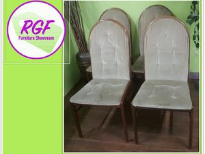 Set Of 4 Chairs For Re Upholstery   Local Deliver.