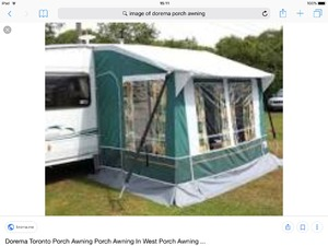 ISABELLA MAGNUM MOONLIGHT PORCH AWNING In Frome