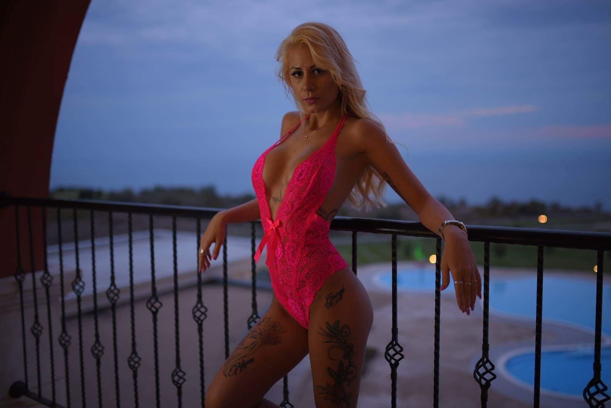 Naked female body nude
