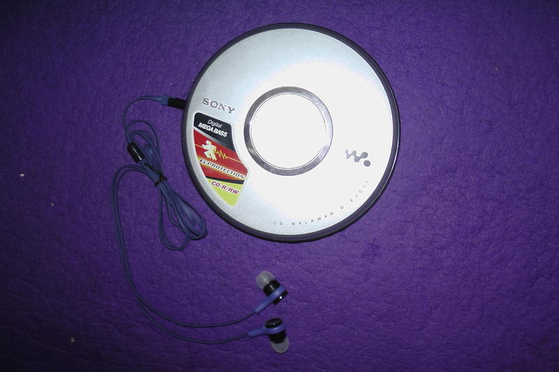 Sony Portable CD Player With Case And Headphones In Shoreham By Sea