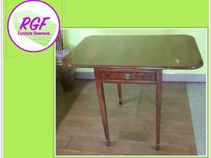 Stunning Small Drop Leaf Table With Drawer