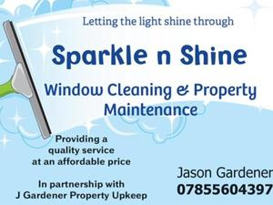 sparkle n shine window cleaning