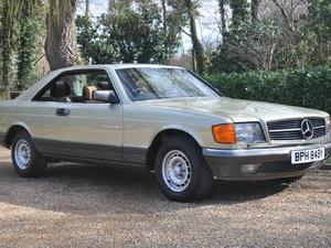 Mercedes-Benz SEC Series 1983