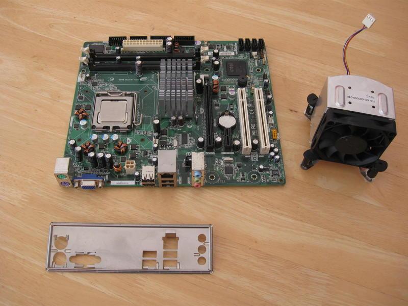 Quad core 2 5GHZ CPU Intel Xeon with heatsink with Intel