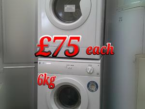 Vented Tumble Dryers White 6kg in St. Leonards-On-Sea