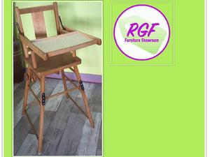 Retro High Chair   Local Delivery £19