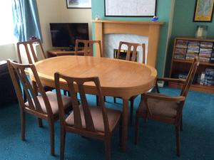 Dining Table And Chairs In Stockton On Tees