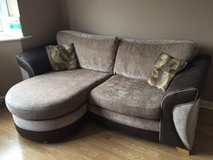 4 Seater Family Lounge Sofa In Chase Fabric