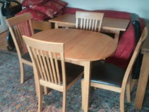 Dinning Room Table Chairs In London