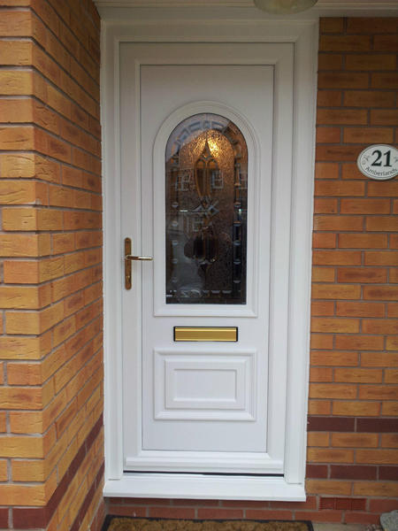 Upvc front doors supplied and fitted for 599 in for Upvc front doors for sale