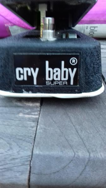 Jen Cry Baby Super Wah Green Fasel Amp Box In Hailsham