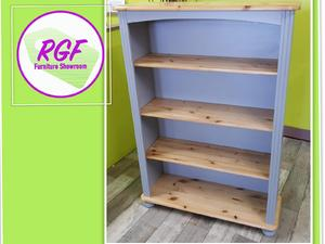 20% OFF SELECTED ITEMS!! Pine Painted Bookcase / Shelves - Local Delivery £19 in Lancing