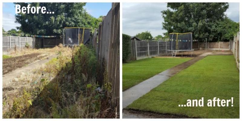 Mini Digger and Man or Just Mini Digger Hire, Garden Work, Footings
