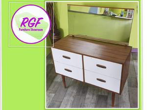 20% OFF SELECTED ITEMS!! Small Retro Style Dressing Table With Drawers - Local Delivery £19 in Lancing