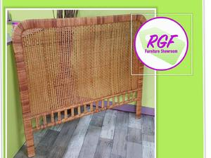 """20% OFF SELECTED ITEMS!! 4ft 6"""" Wicker Headboard For Standard Double Bed - Local Delivery £19 in Lancing"""