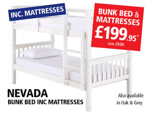 BUNK BED INCLUDING 2 SPRING MATTRESSES £199.95 in Hove