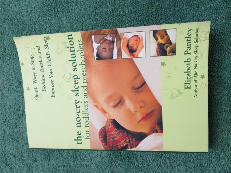 2f8e9d10e8df9e The No-Cry Sleep Solution for Toddlers & Pre Schoolers Book by Elizabeth  Pantley VGC SPFH