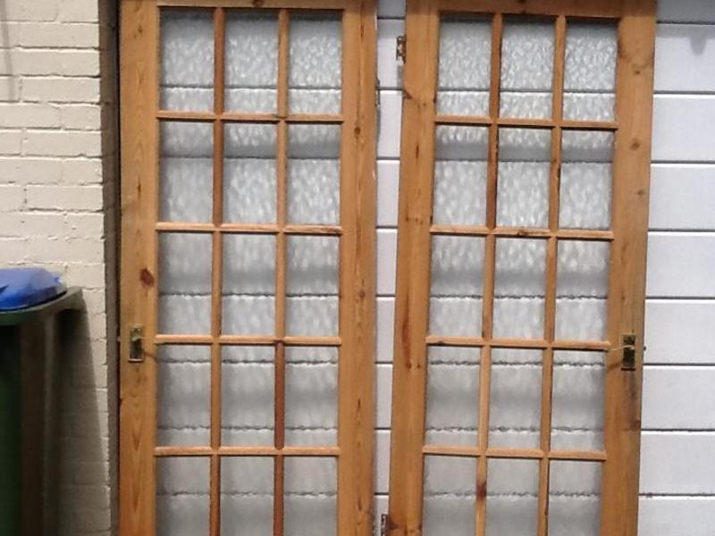 Pine Glass Panelled Doors In Pulborough Expired Friday Ad